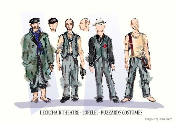 Buzzard sketch