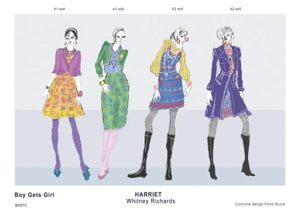 Harriet rendering