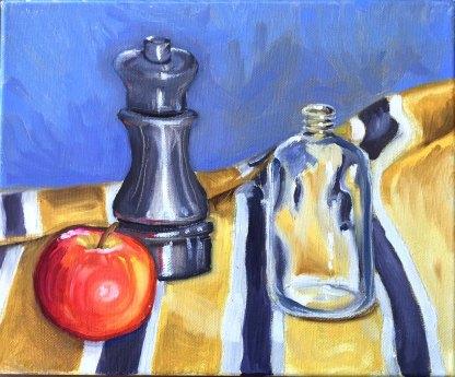 Still Life. Oil on canvas.