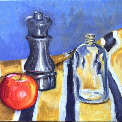 Still Life. Oil on canvas.
