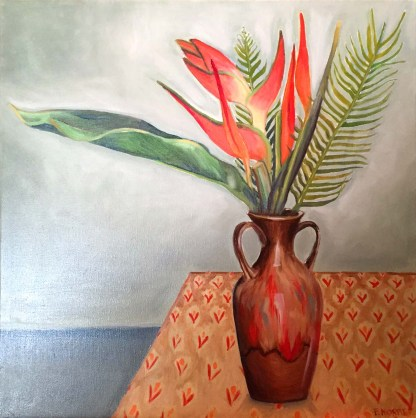 Flowers from Parap Markets. Oil on Canvas